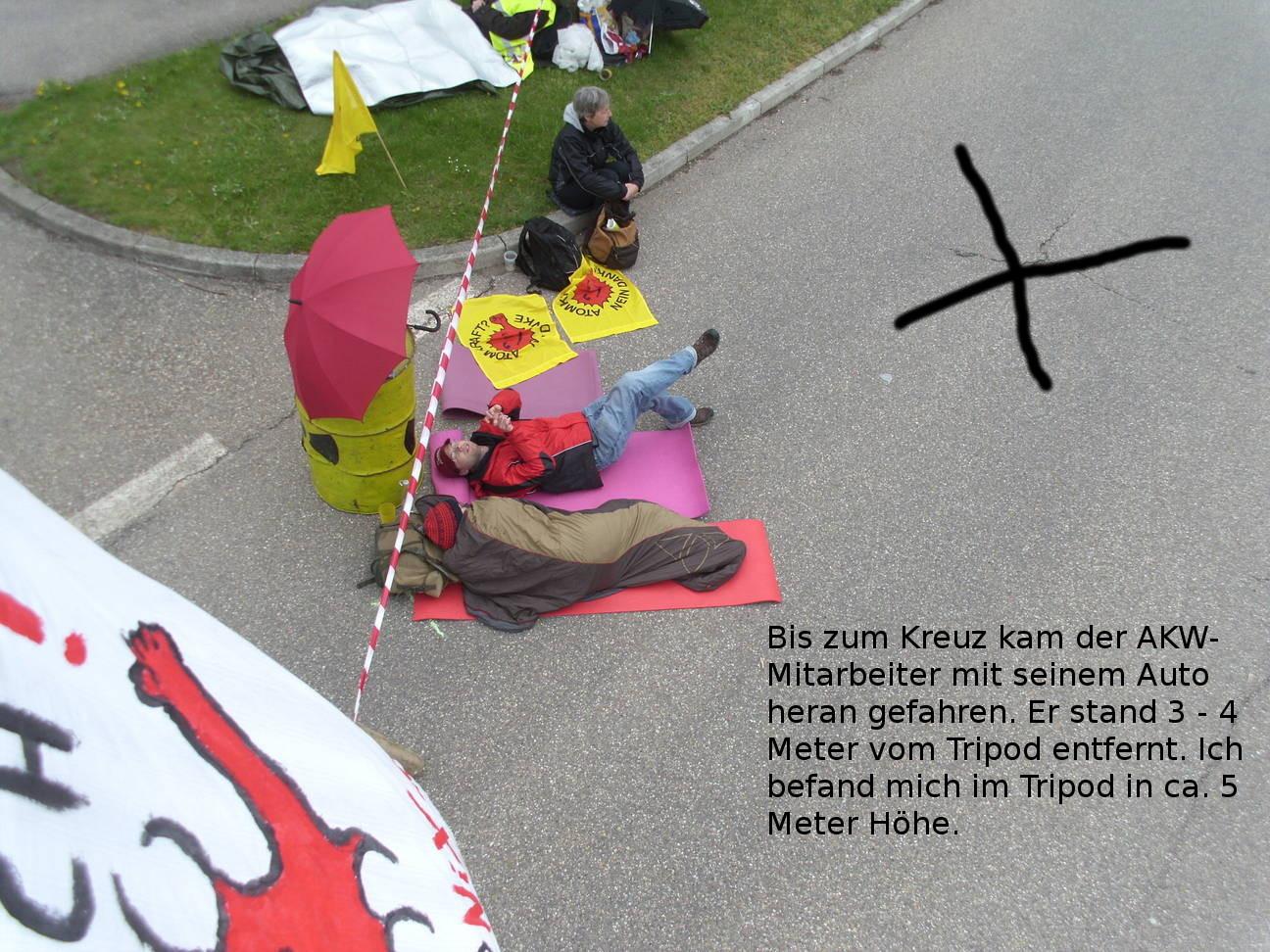 Blockade Neckarwestheim