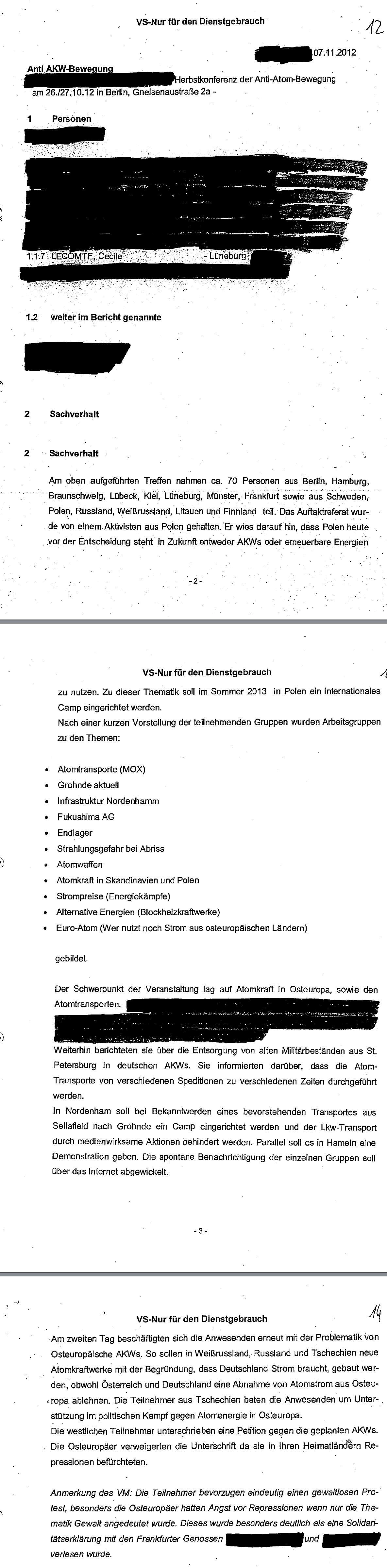 Bericht zur aak Berlin 2012